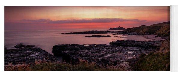 Godrevy Sunset - Cornwall Yoga Mat