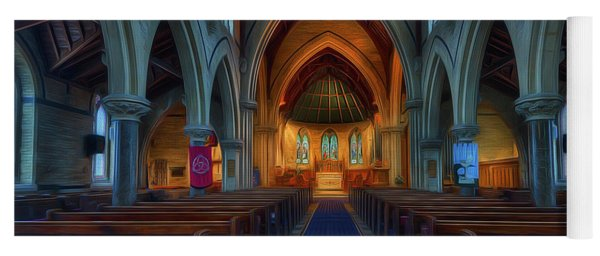 Gods Church Yoga Mat