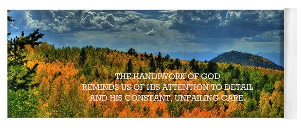 God's Handiwork Yoga Mat