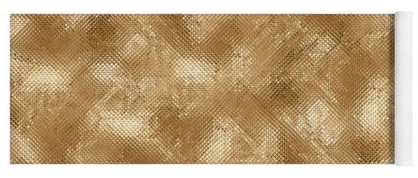 Gold Metal  Yoga Mat
