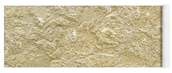 Gold Stone  Yoga Mat