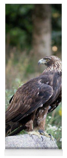 Golden Eagle On Rock 92515 Yoga Mat