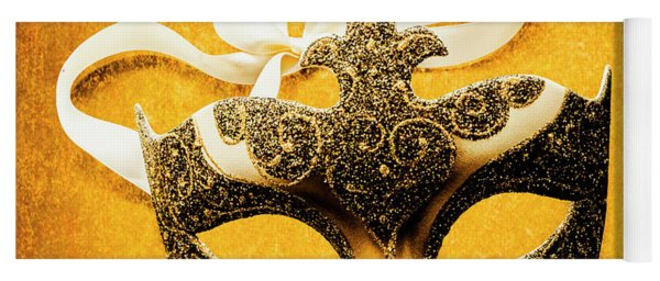 Golden Gala Yoga Mat