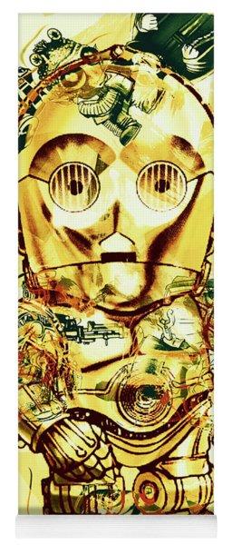 Golden Movie Mech Yoga Mat
