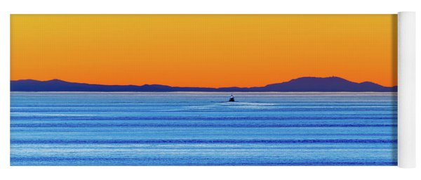 Golden Sunset Series I I Yoga Mat