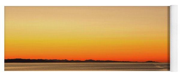 Golden Sunset Series V I I Yoga Mat