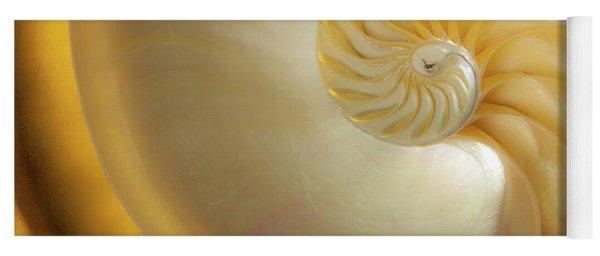 Golden_nautilus_0692 Yoga Mat