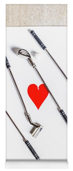 Golf Club Love Yoga Mat