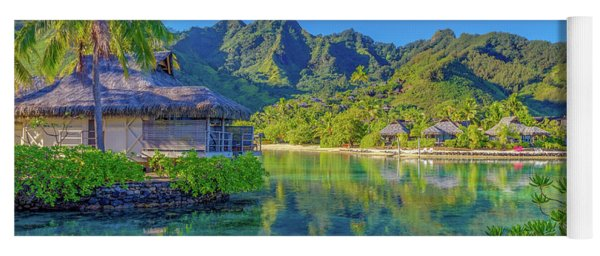Good Morning From Mo'orea French Polynesia Yoga Mat