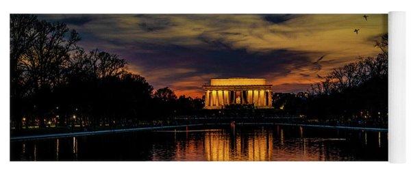 Goodnight Washington Yoga Mat