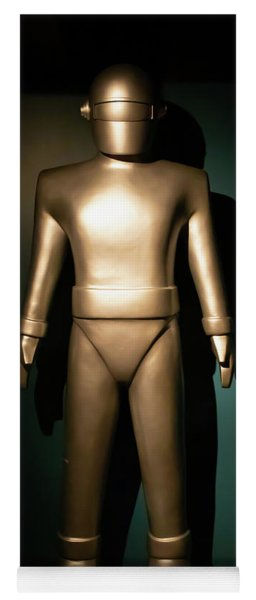 Gort The Humanoid Robot The Day The Earth Stood Still R1040 Yoga Mat