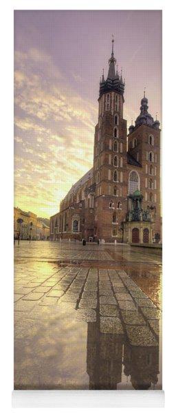 Gothic Church Yoga Mat