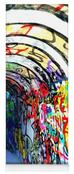 Graffiti Tunnel Yoga Mat