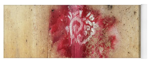 Grafitti Heart Yoga Mat