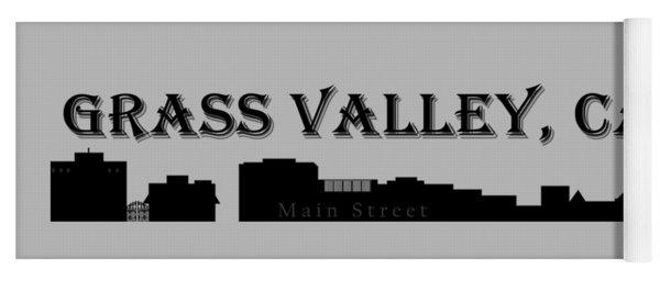 Grass Valley Skyline Yoga Mat