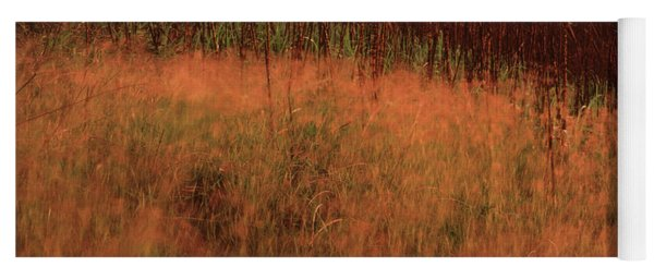 Grasses And Sugarcane, Trinidad Yoga Mat