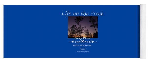 Gray Pine Yoga Mat