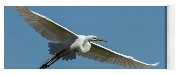 Great Egret 2014-2 Yoga Mat