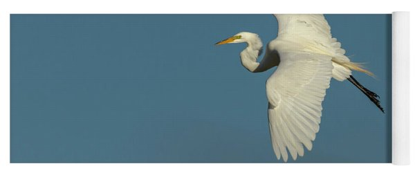 Great Egret 2014-9 Yoga Mat