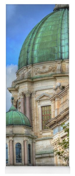 Green Dome's Of Italy Yoga Mat
