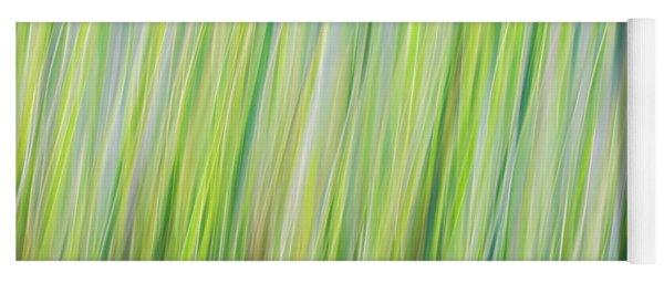 Green Grasses Yoga Mat