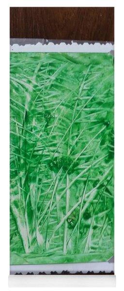 Green Jungle Yoga Mat