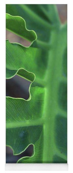 Green Space Yoga Mat