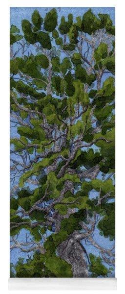 Green Tree, Hot Day Yoga Mat