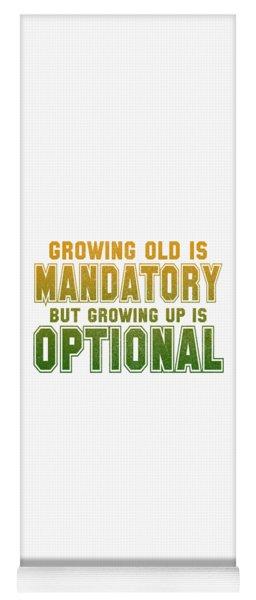 Growing Up Yoga Mat