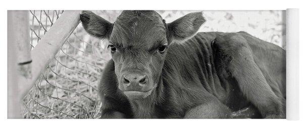 Grumpy Cow Yoga Mat