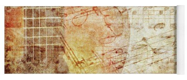 Grunge Music Yoga Mat