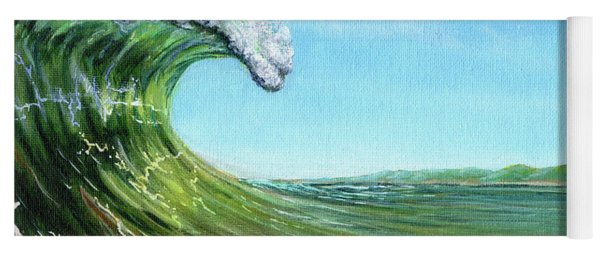 Gulf Of Mexico Surf Yoga Mat