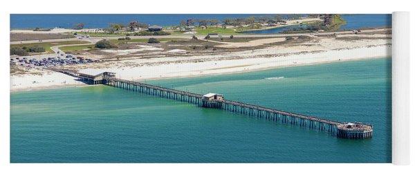 Gulf State Park Pier 7464n Yoga Mat