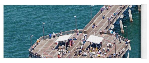 Gulf State Park Pier 7467 Yoga Mat