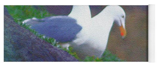 Gulls On Haystack Rock Yoga Mat