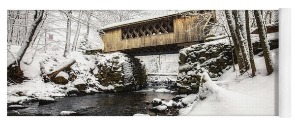 Gunstock Brook And Tannery Hill Bridge Yoga Mat