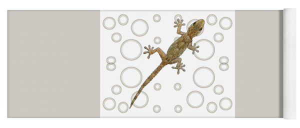 H Is For House Gecko Yoga Mat