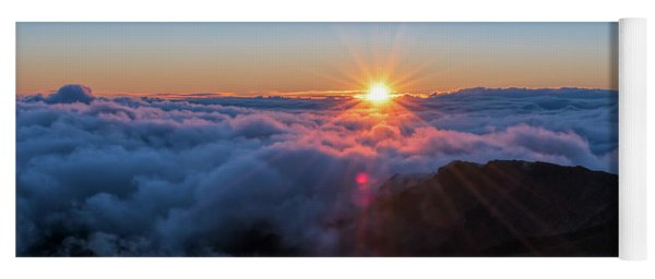Haleakala First Light  Yoga Mat