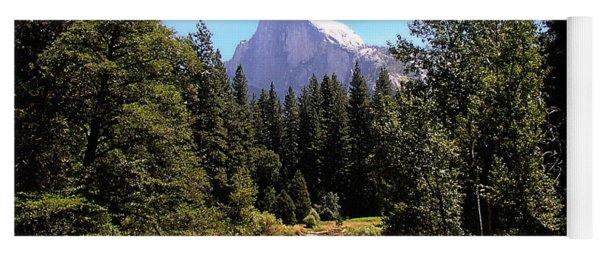 Half Dome From Ahwanee Bridge - Yosemite Yoga Mat