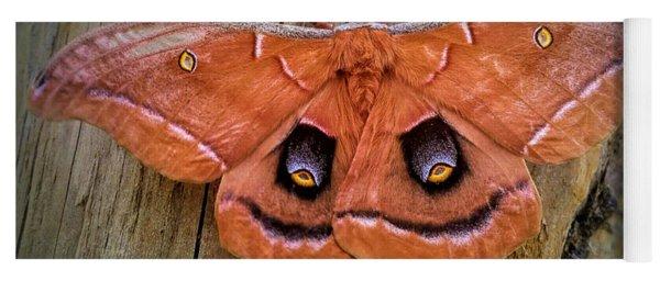 Halloween Moth Yoga Mat