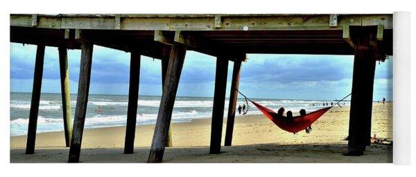 Hanging At Virginia Beach  Yoga Mat
