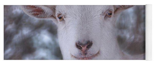 Happy Goat  Yoga Mat