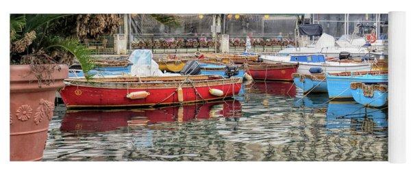 Harbour, Bay Of Naples Yoga Mat