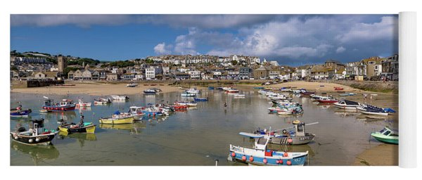 Harbour - St Ives Cornwall Yoga Mat