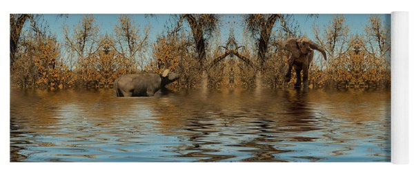Yoga Mat featuring the photograph Harmony In Nature by Mike Braun