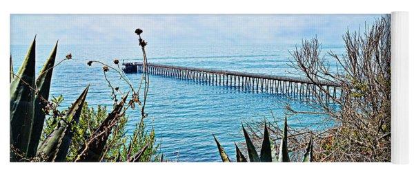 Haskell Beach Pier Yoga Mat