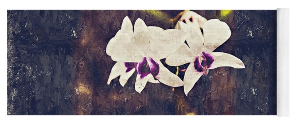 Hawaiian Tree Orchid Yoga Mat