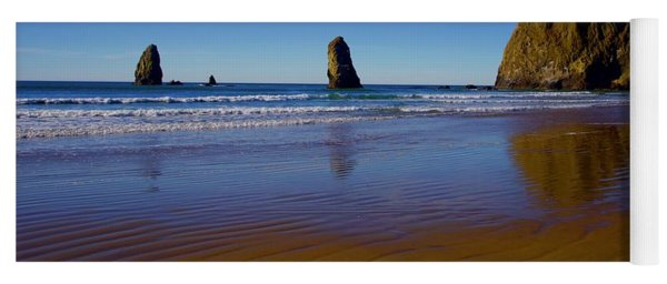 Haystack Rock Panoramic Yoga Mat