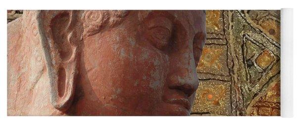 Head Of Buddha,  Yoga Mat