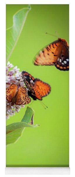 Head Over Heals For Milkweed Yoga Mat